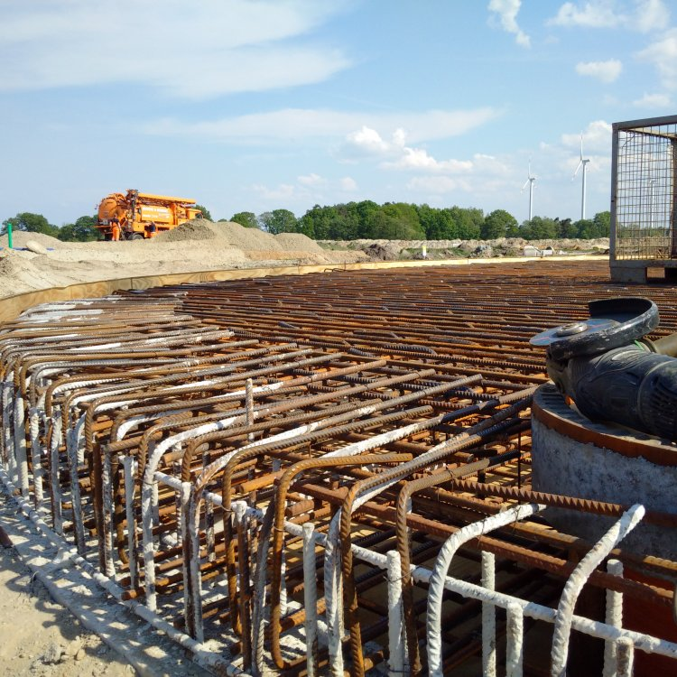 BV Neubau Löschwasserbehälter Logistikpark Elstorf